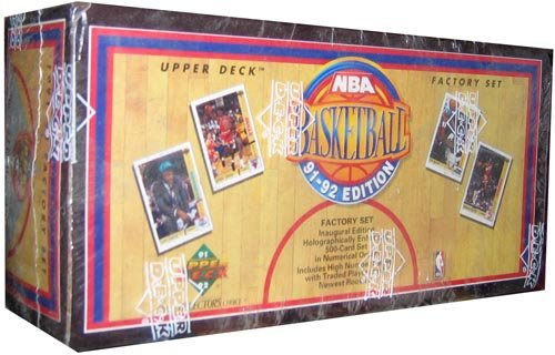 1991-92 Upper Deck Basketball Factory Sealed 500 Card Set Premier Edition! from Upper Deck