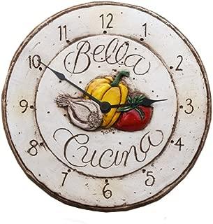 product image for Piazza Pisano Italian Bella Cucina Kitchen Clock