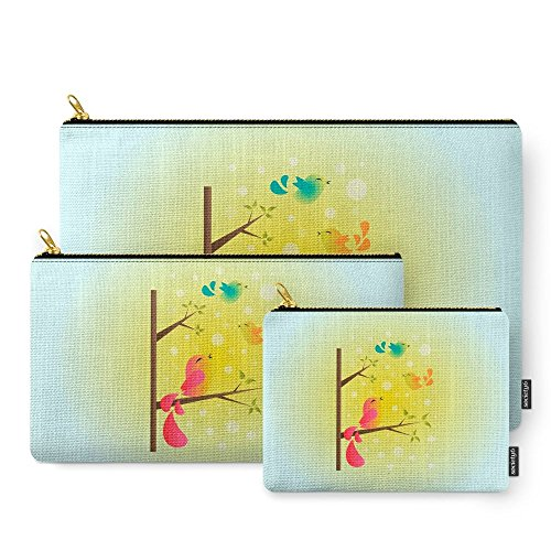 Society6 Fly High, My Babies! Carry-All Pouch Set of 3