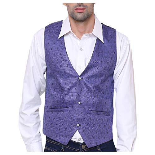 51iaCrlCa6L. SS500  - SORELLA'Z Men's Waistcoat (Multicolour, Free Size)