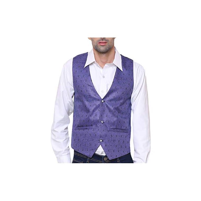51iaCrlCa6L. SS768  - SORELLA'Z Men's Waistcoat (Multicolour, Free Size)
