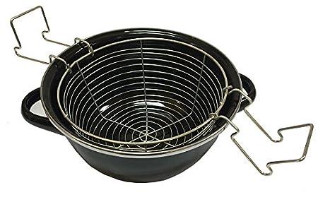 Amazon.com: Magefesa 01102535 - Sartén (7.9 in), color negro ...