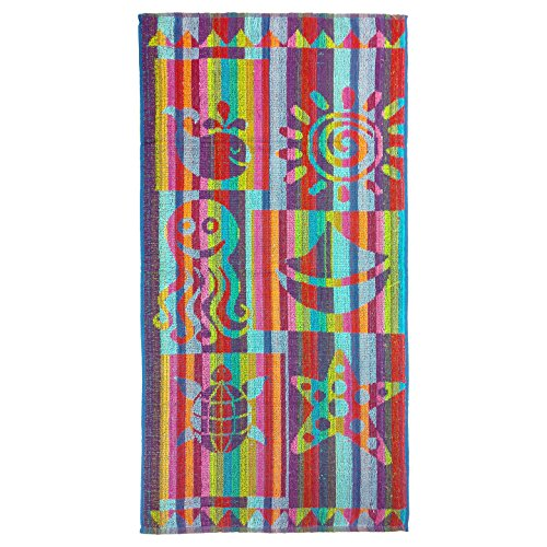Terry Beach Towel - sun