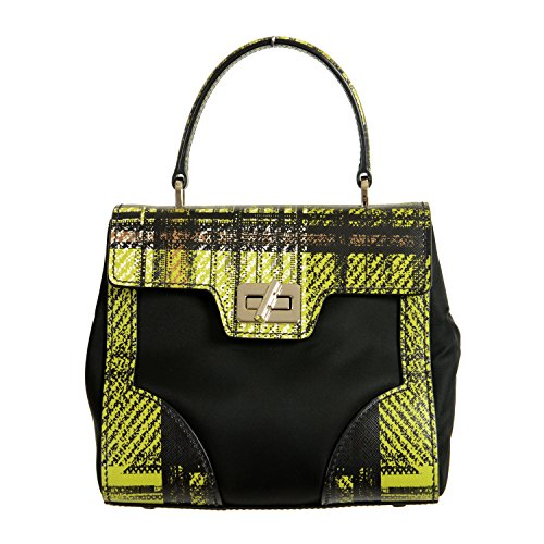 Prada Leather Multi-Color Women's Handbag Shoulder Bag