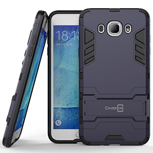 Slim Shockproof Case for Samsung Galaxy J7 (Grey) - 3