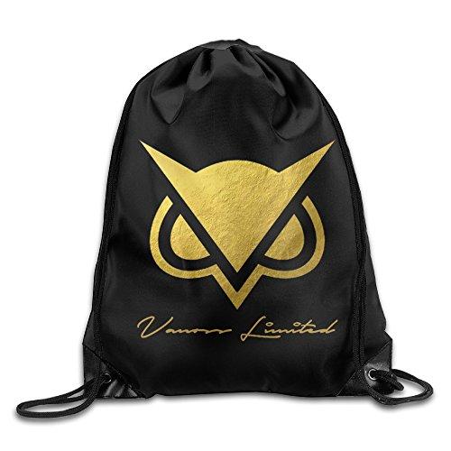 MPOD Vanoss Gaming Gold Owl Logo Drawstring Backpack Bag