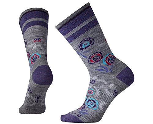 Smartwool Women's Rosey Posey Crew Socks Medium