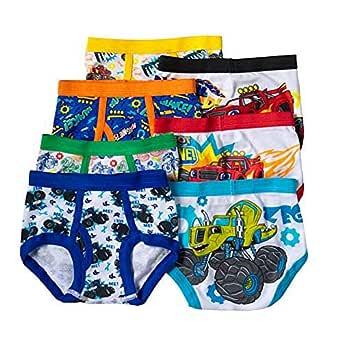 Handcraft Blaze and The Monster Machines Toddler Boys 7 Pack Underwear Briefs Multi 2T/3T