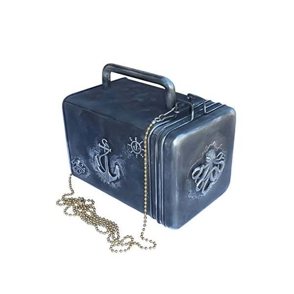 SteAMPunk travel Nautical Steampunk purse BOX handmade 3