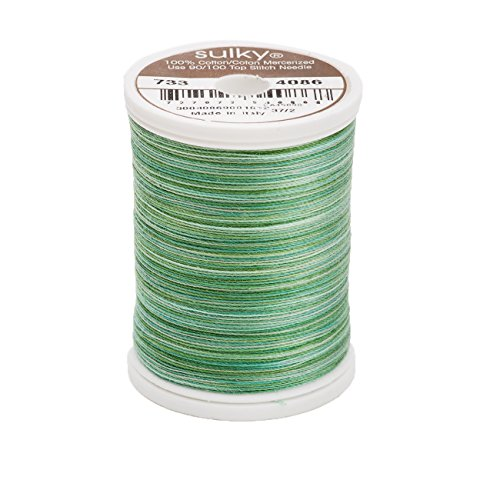 Sulky Of America 400d 30wt 2-Ply Blendables Cotton Thread, 500 yd, Cactus