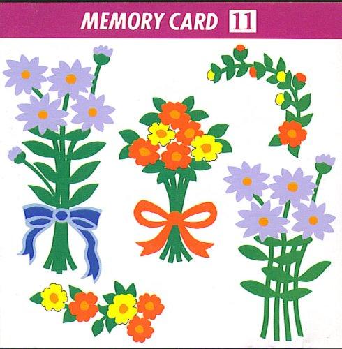 - Janome Memory Card #11- Big Floral Series