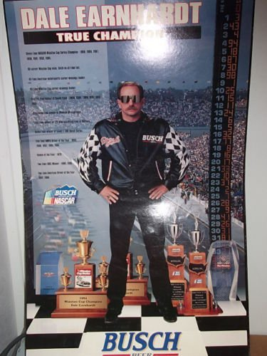 Vintage Dale Earnhardt #3 True Champion Poster 25 High by 16 Wide Winston Cup,