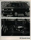 1991 Press Photo 1991 Olsmobile Bravada - orb06932