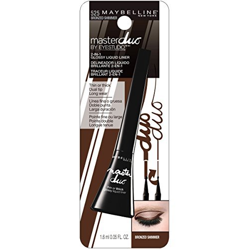 Maybelline Master Duo Bronze Shimmer 0.05 Oz, Pack of 9