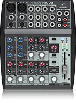 front facing behringer xenyx 1002