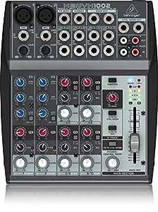 Behringer Xenyx 1002 - Mezclador para DJ (110 Db, 10 - 200000 Hz, 0,005%, 13W, 18,9 cm, 22 cm)