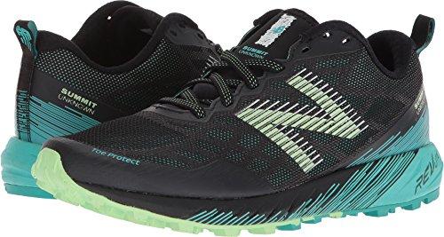 New Balance Women's Summit Unknown Trail Running Shoe, Green/Black, 6 D US