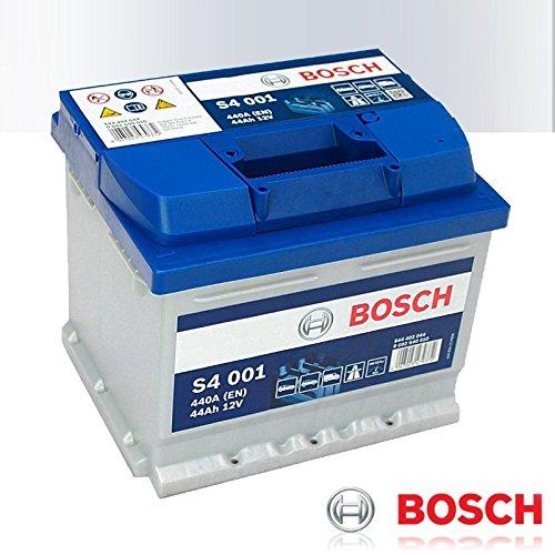 0092S40010 Bosch S4 001 - Bateria de arranque para coche (44Ah, 12V, 440A)