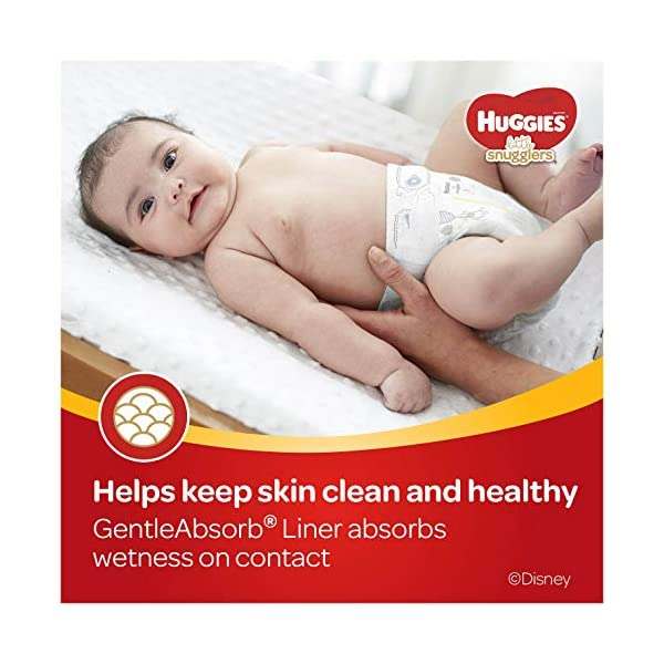 Huggies Little Snugglers Baby Diapers 4