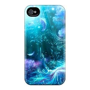 Fashionable CCIolkZ4579SQavi Iphone 4/4s Case Cover For Marine Maiden Protective Case