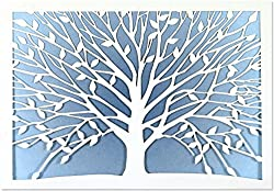 Tree Of Life Laser Cut Note Cards (Stationery, Boxed Cards)