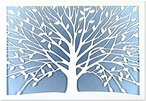 [Tree of Life Laser Cut Note Cards (Stationery, Boxed Cards)] (Laser Cut Note Cards)