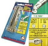 Eklind EKL22461 6 Piece Foldup Screwdriver/Hex Key/Torx Set NOS USA