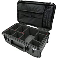 Black SKB 3i-2011-7B-E with TrekPak dividers & Computer Lid pouch.