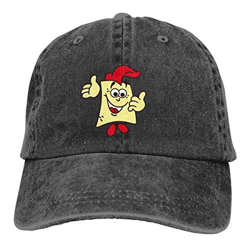 Sakanpo Spongebob Unisex Cowboy Baseball Caps Trucker Hats Black -