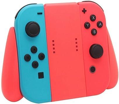 LeSB Nintendo Switch Joy-con Comfort Grip, Controlador Grip Handles para Nintendo Switch Joy-con, Color Rojo: Amazon.es: Electrónica