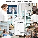 1200Mbps WiFi Range Extender Internet Booster for
