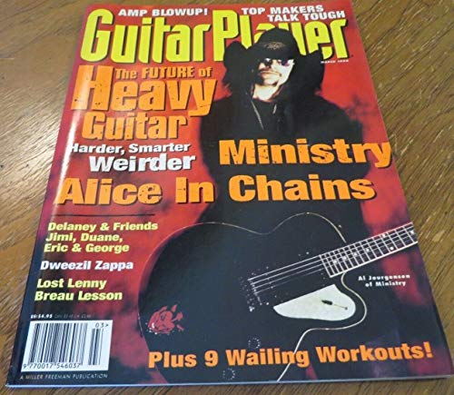 March 1996 GUITAR PLAYER Magazine Issue 312 Vol 30 No 3