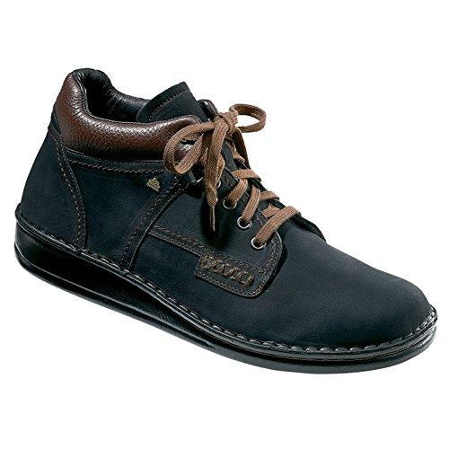 Finn Comfort Unisex Linz Boot,Black/Brown/Nevada,36 EU (US Women's 5 M)