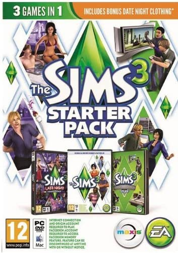 Electronic Arts The Sims 3 Starter Pack, PC - Juego (PC, PC ...