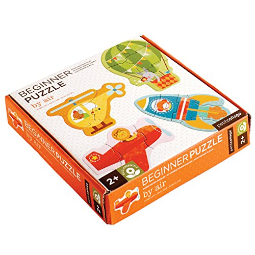 - Petit Collage Beginner Jigsaw Floor Puzzle, by Air