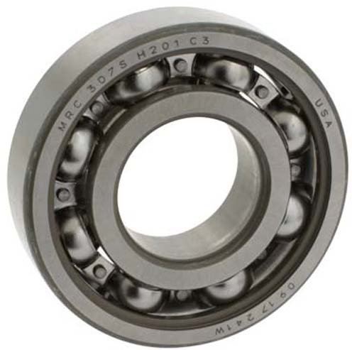 Mrc Ball Bearings - MRC (SKF) 306SZZ-HYB#1 - Radial/Deep Groove Ball Bearing - Round, 30 mm ID, 72 mm OD, 19 mm Width