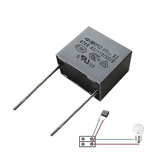 Si può collegare un condensatore Run allindietro