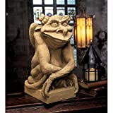 Design Toscano Oscar The Gargoyle with Attitude Statue Size: Large For Sale