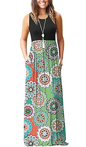 MISFAY Women's Sleeveless Casual Maxi Party Long Dresses for sale  Delivered anywhere in USA
