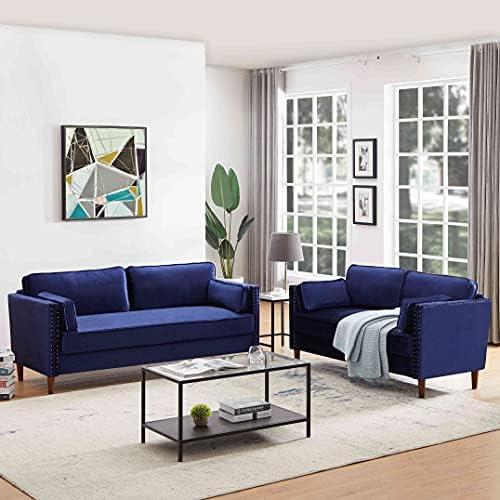 Cotoala 2P+3P, 2 Piece Sofa, Modern Upholstered...