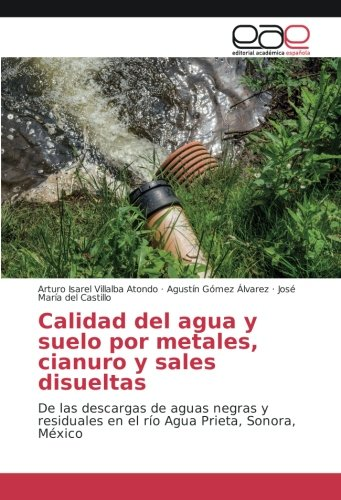 Download Calidad del agua y suelo por metales, cianuro y sales disueltas: De las descargas de aguas negras y residuales en el río Agua Prieta, Sonora, México (Spanish Edition) PDF Text fb2 ebook
