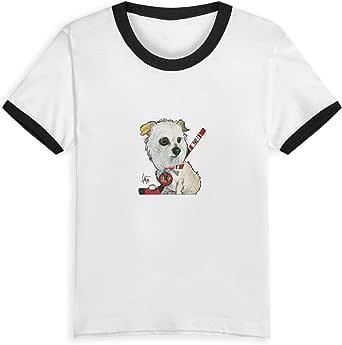 Camiseta de manga corta para niños, diseño gráfico de Bosshard, para jóvenes, con cuello redondo, para niño y niña.