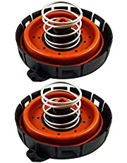 2 Pieces PCV Valve Pressure Regulating Valve for BMW 545i 550i 645ci 650i 745Li 745i 750i 750Li X5