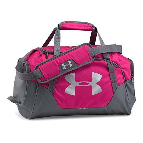 Under Armour Undeniable 3.0 X-Small Duffle Bag, Tropic Pink/Silver [並行輸入品] B07F4PFF2G