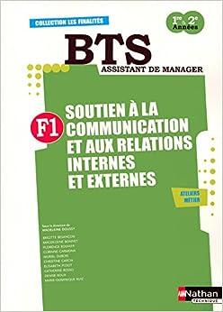 Finalité 1 - Soutien à la communication et aux relations internes et externes