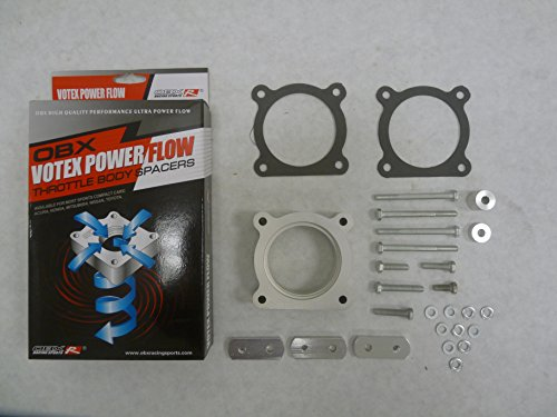 OBX Racing Performance Votex Throttle Body Spacer 05-09 Toyota 4RUNNER 07-09 FJ CRUISER 05-14 TACOMA 4.0L
