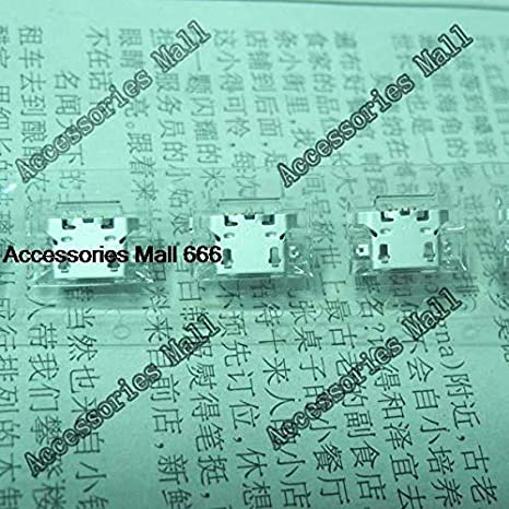 Computer Cables 5-200pcs Micro USB Connector for Lenovo A850 A800 S898t S8 S820 S880 P780 A820 S820 P770 A800 S920 a670t P708 S850E S696 DC Jack Cable Length: 20 pcs