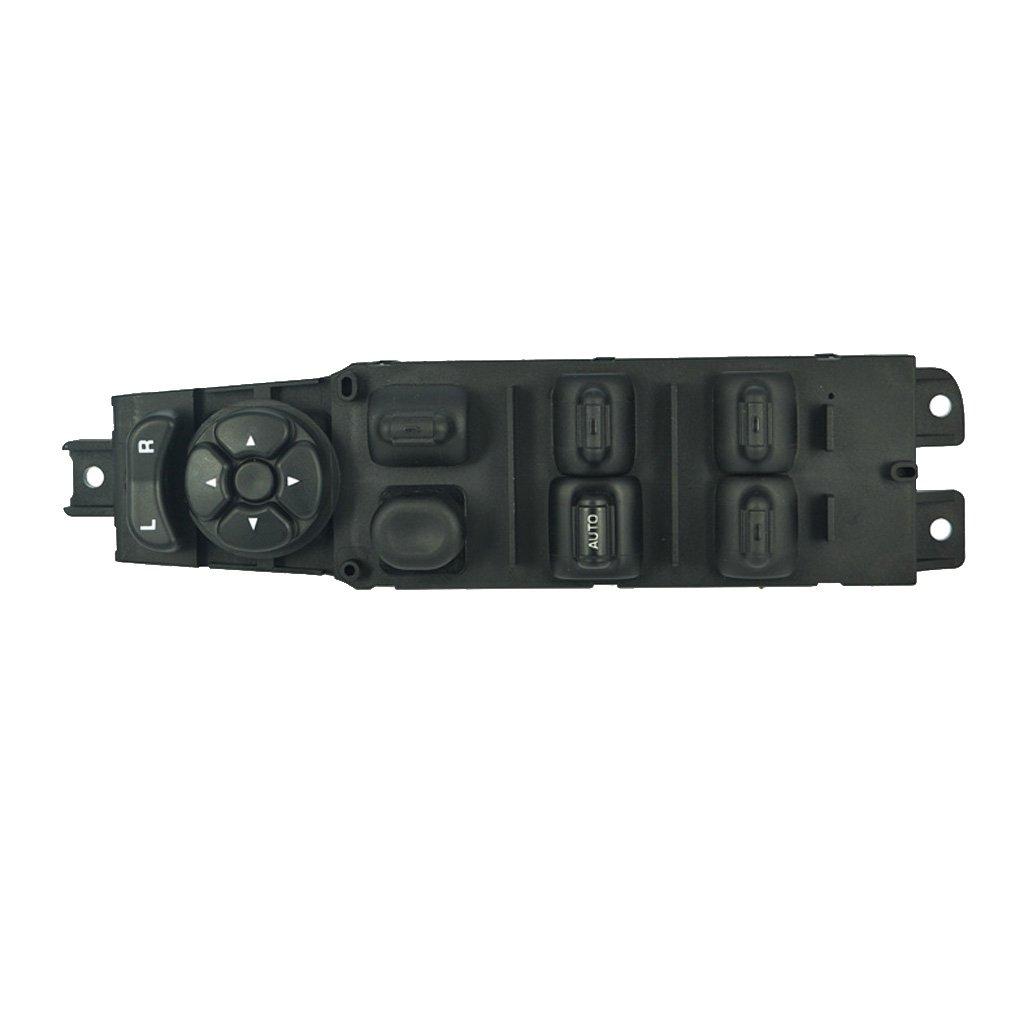 Interruptor de Elevalunas Puerta Izquierdo Delantero Elé ctrico Principal Impulsor para 97-01 Cherokee Generic