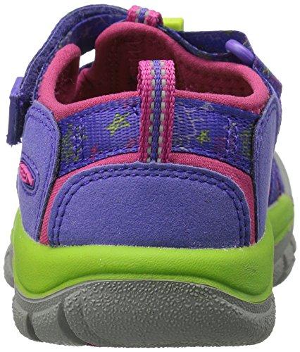 Sandalia Keen Children Hewport H2 morado-rosa-verde