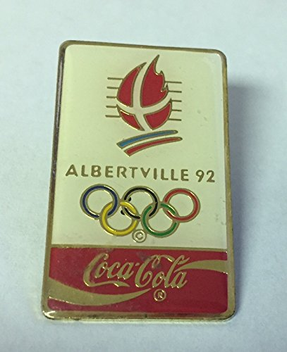 1992 Albertville Coca Cola Olympic Pin 1992 Albertville Olympics